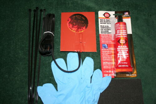 Engine Oil pan heater block heater kit 150W Car /& Trucks complete KIT
