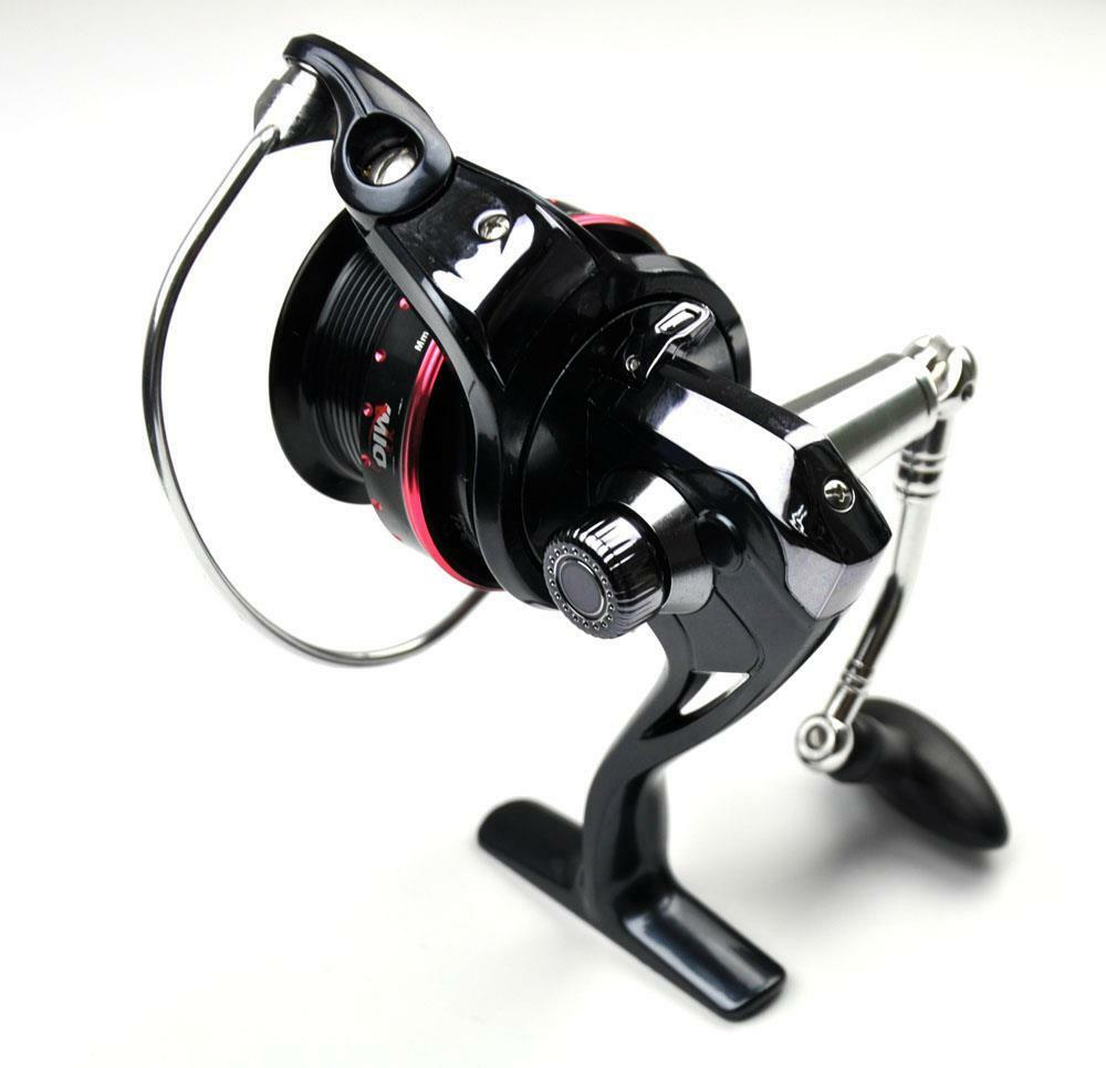 Long Casting Baitcast Fishing Spinning Reel 3000 , 7+1BB Metal Spool Left Right