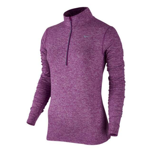 competitive price ff865 e722c NWT Nike Element DriFit Half-Zip Pullover 685910-556 Cosmic Purple  65 XS