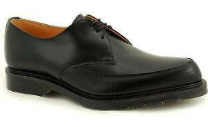 Solovair-NPS-Shoes-Made-in-England-3-Eye-Black-Pointed-Shoe-S012-X122