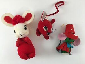 3-vintage-mouse-Christmas-tree-ornaments