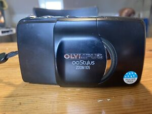Olympus Stylus Zoom 105 35mm Point and Shoot Film Camera TESTED