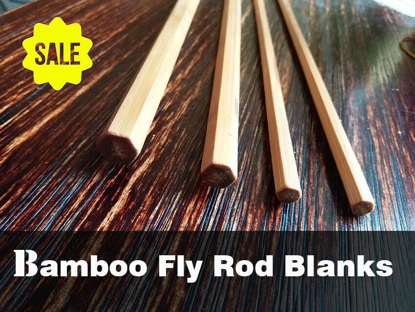 Bamboo fly rods blanks(NEW) ( Hardy CC defrance Taper)  9'x3pc   5 6WT  blonde
