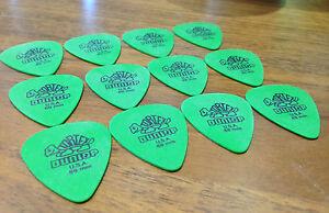 12 X Dunlop Vert Tortex Standard Guitar Picks Médiators Vert 0.88 Mm-afficher Le Titre D'origine