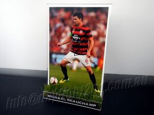Signed-MICHAEL-BEAUCHAMP-Photo-amp-Frame-PROOF-COA-Wanderers-2018-Jersey
