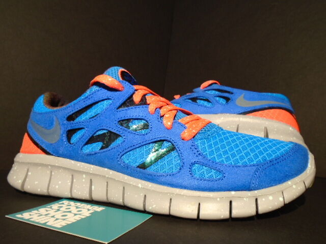 Nike FREE RUN+ 2 DB II DOERNBECHER GALAXY blueE CRIMSON BLACK GREY 578363-446 9
