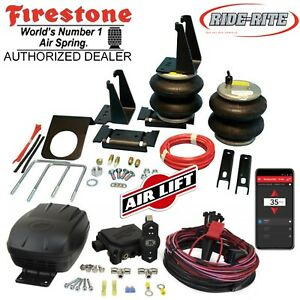 Details About Firestone Ride Rite Air Bags Airlift Compressor Toyota Tacoma 4wd Pre Runner 2wd