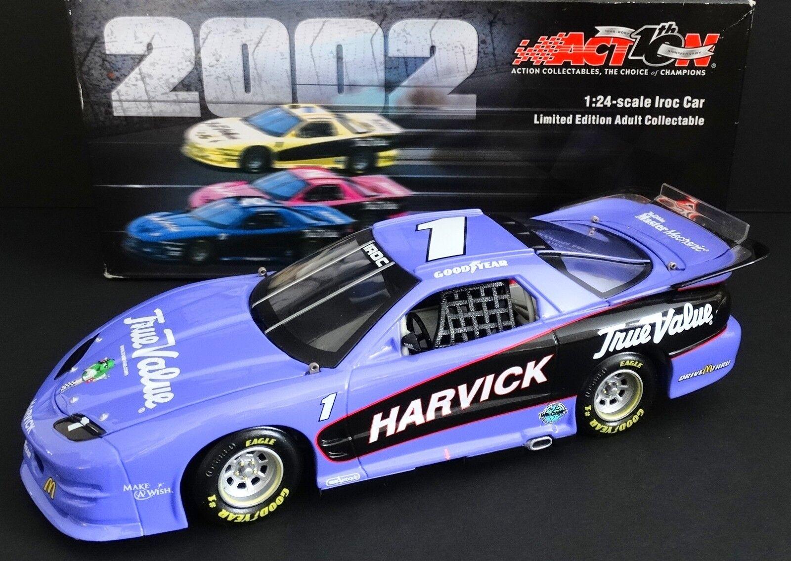 Kevin Harvick verdadero valor 1 24 acción 2002 Iroc campeón Firebird Xtreme