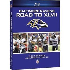 Nuevo-NFL-Baltimore-Ravens-Camino-A-XLVII-Blu-ray