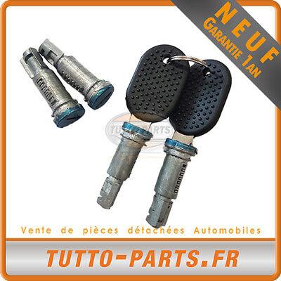 2 Clés Iveco Daily De 1989 à 1999-500328054 500328053 4 Barillets De Porte