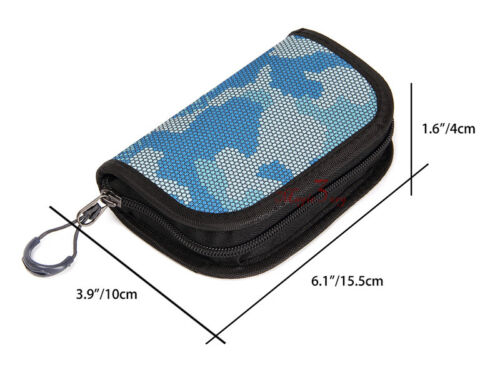 Waterproof Fishing Spoon Tackle Storage Case Bag Portable Spinner Lure Wallet