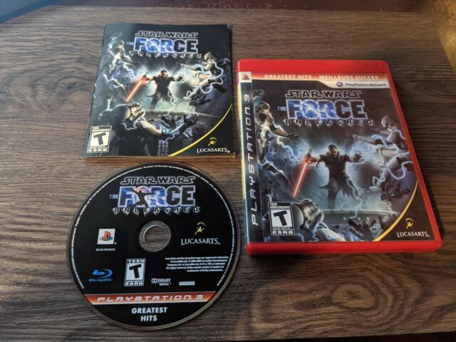 Star Wars : The Force Unleashed - GH - (Sony Playstation 3, 2008) CIB Like New