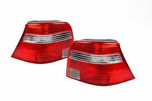 VW-Golf-MK4-97-04-Rear-Tail-Lights-Lamps-Set-Pair-Left-Right-White-Indicator