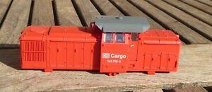 Guetzold-41200-Lokgehaeuse-Diesellok-BR-346-756-0-V-60-BR-106-DB-Cargo-Ep-5-6-Neu