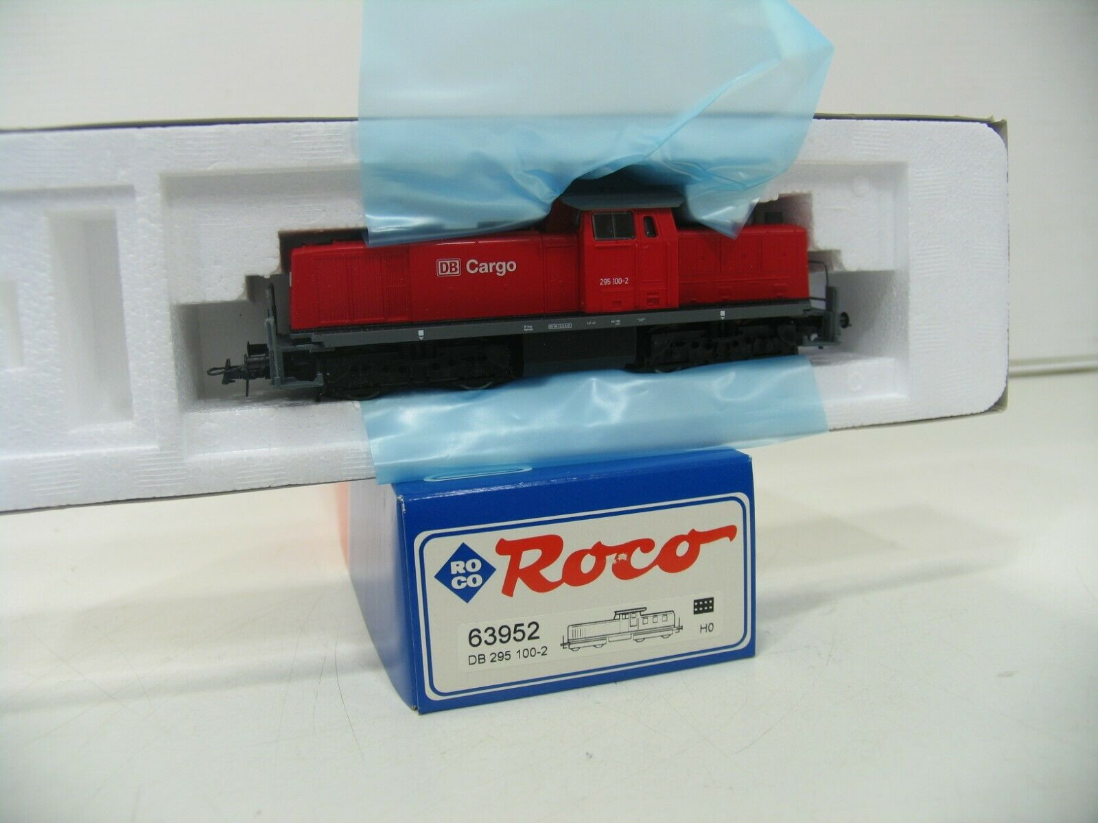 Roco 63952 Diesellok BR 295 Red the Db Cargo JS802