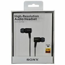 SONY MDR-NC750 High-Resolution Digital Noise Cancellation Audio Headset - Black
