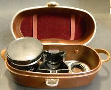 Vintage Carl Zeiss Nr2359515 f = 85mm. 1:4 Pro-Tesser In Leather Zeiss Ikon Case