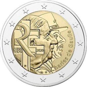 FRANKRIJK-SPECIALE-2-EURO-2020-CHARLES-DE-GAULLE