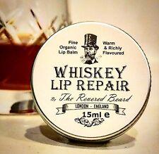 Whiskey Lip Balm, Men's Lip Repair by Revered Beard. Great Gift!