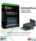 AVG AntiVirus 2017 - 3 Computers / 2 Year Protection | Digitally Delivered