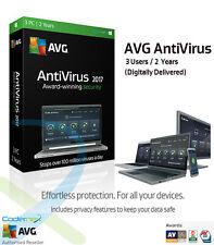 AVG AntiVirus 2017 - 3 computer / 2 anno protezione | consegna digitale