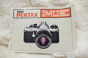 pentax me instruction book manual ebay rh ebay co uk Pentax Super Program pentax me user manual