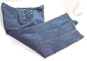 ee139c32cb2 Women s Plus Denim Jeans by Ashley Stewart Size 20W Zipper Pre-owned ...