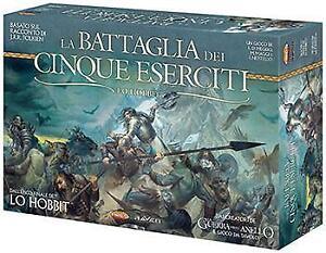 Lo-Hobbit-La-Battaglia-dei-Cinque-Eserciti-Gioco-da-Tavolo-NUOVO-ITALIANO