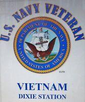 Vietnam Dixie Station U.s Navy Veteran W/emblem Shirt