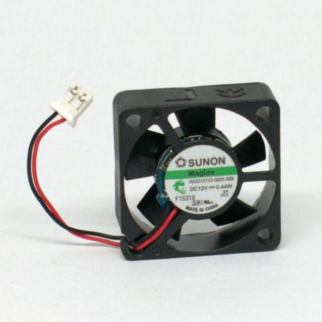 1pc Sunon HA30101V3-000U-G99 30x30x10mm 3010 12V 0.44W 3pin DC Brushless Fan