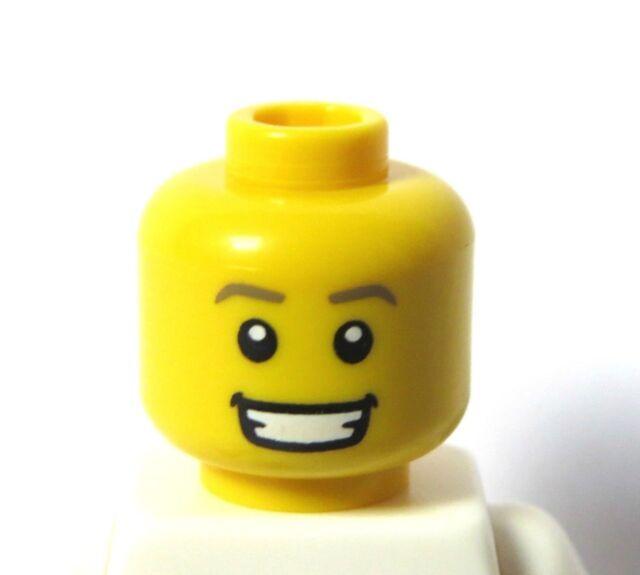 LEGO 6 Heads Head For Girl Female Figure  Minifigure  Standard Smile