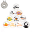 10pc-Magnetic-Golf-Cap-Clip-Ball-Marker-Golf-Accessories-Training-Aids-Suppliers thumbnail 10
