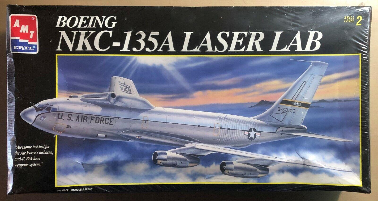 AMT ERTL 8958 - BOEING NKC-135A LASER LAB - 1  72 PLASTIC KIT  être en grande demande