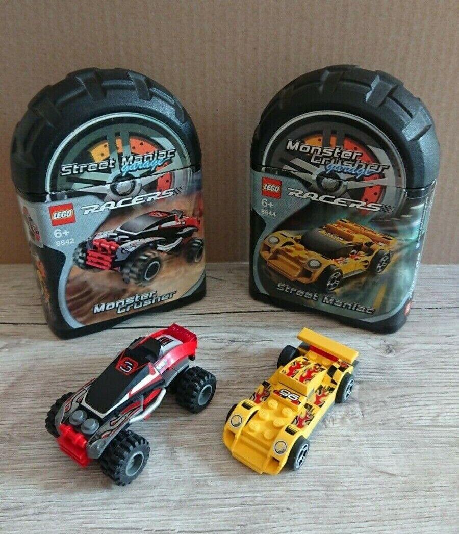 1 x Lego System Auto Falt Box Container schwarz violett für Set Racers Xalax Spi