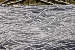 Opaque-White-11-0-Glass-Seed-Beads-Hank