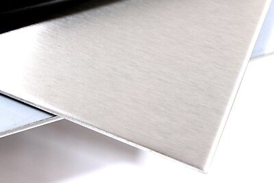 1mm Stainless Steel Polished 430 Sheet Plate UK Made Top Quality 150 x 150mm