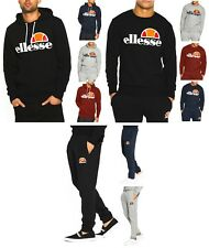 Ellesse New Mens Hoodies, or Sweatshirt Tops, or Jogging Bottoms Sweat Pants