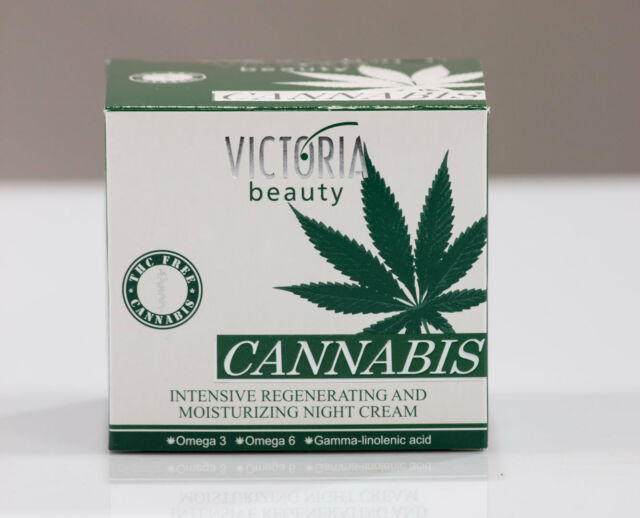 Victoria Beauty Regenerating & Moisturizing Night Cream with Hemp Oil