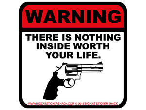 Warning-there-is-nothing-inside-worth-your-life-Bumper-Sticker