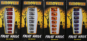 Artificial Nails Carnival Halloween Costume Witch 4 Models ...