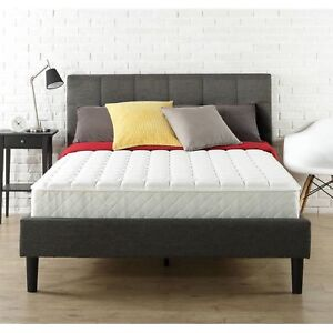 Slumber 1 - 8 Inch Coil Spring Mattress Full Size Bed Bedroom In-a ...
