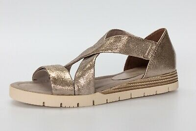 Marco Tozzi Pewter wedge sandals, UK 3EU 36, BNWB | eBay