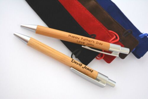 Any Word Mother teacher Gift Birthday Personalise pen engraved wedding wife Dad