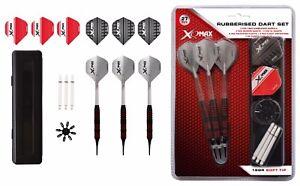 XQMax-Softdart-Starter-Set-mit-18-Darts-Shafts-Flights-Flightschoner-amp-Case