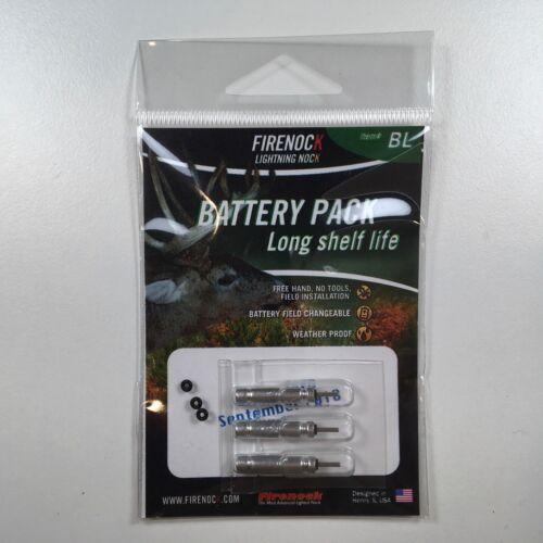 BL pour A3//C3//D3//E3//F3//J3//Q3//S3//V3//Y3 lighted Nock FIRENOCK Pack Batterie Longue