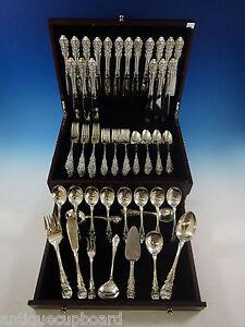 Sir Christopher von Wallace Sterling Silber Bestecke Set für 18 Service 97 teilig