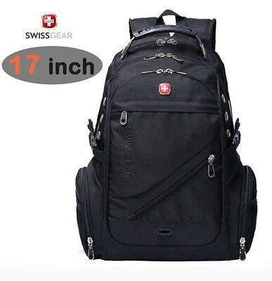 """17"""" Wenger Waterproof Swiss Gear Travel Bags Macbook laptop bag hiking backpack"""
