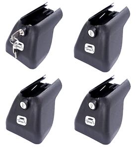 Verschließbare Endkappe//Abdeckung Abdeckkappe x4 für Dachträger Amos Dromader