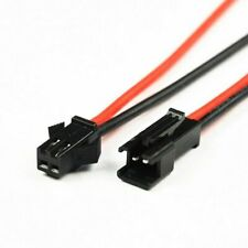 20 Pairs 10cm Sm Plug Connector Cable Wire Male Female 20 Of Each Connector Led