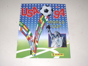 PANINI-WORLD-CUP-USA-94-1994-ALBUM-OFFICIAL-REPRINT-100-complete
